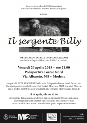 IL SERGENTE BILLY - ZERO in condotta